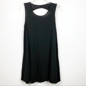 American Eagle   Black Tunic Flow Dress